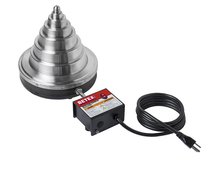 Beurs ACTIE: BETEX Cone heater lagerverwarmer