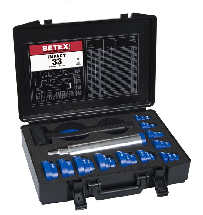 BETEX Impact 33 Montage gereedschap