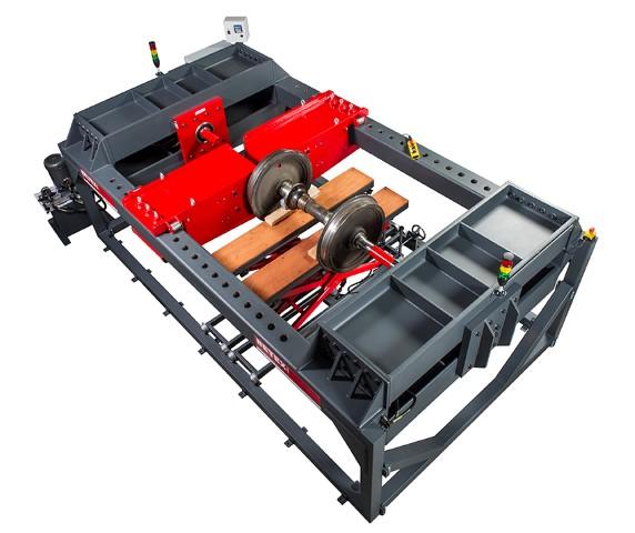 RADSATZPRESSE - Zur Montage und Demontage der Radsätze