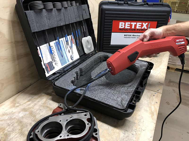 BETEX iDuctor 2 for precision heating