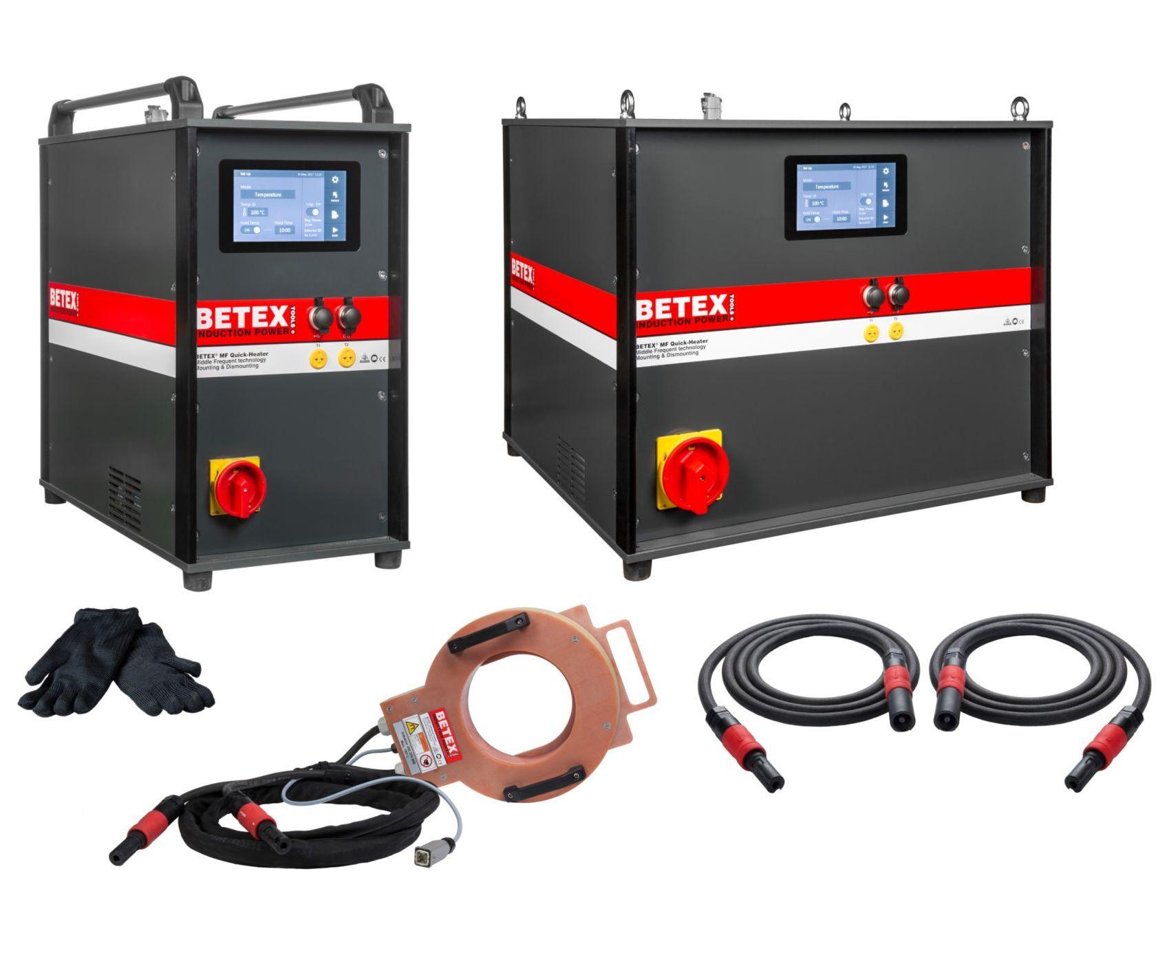 LIVE demonstatie BETEX MF Quick-Heater 3.0