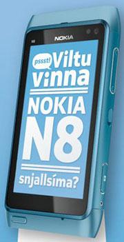 Viltu vinna Nokia N8?