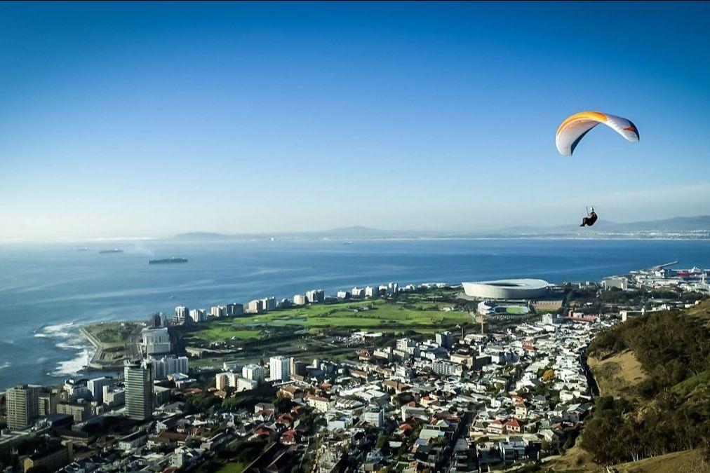 Gleitschirm Kapstadt
