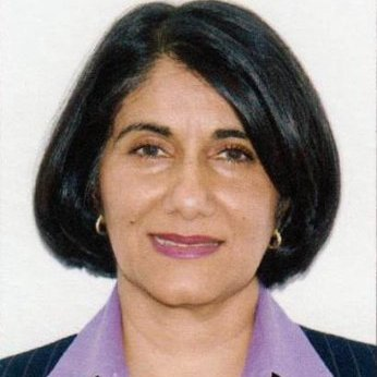 Sheena Jaffer smiling