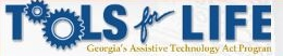 Logo for Tools for Life: Georgia's Assistive Technology Act Program