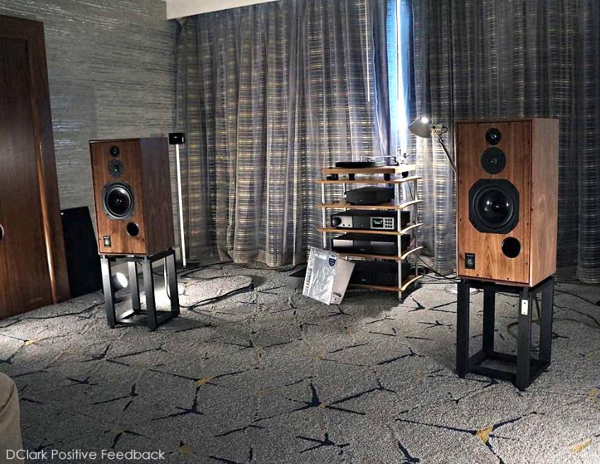 SHL5plus 40th anniversary models at the LA Audio Show