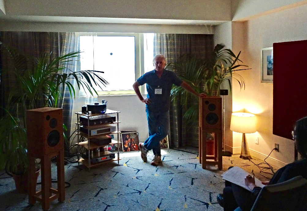 Gene Rubin of Gene Rubin Audio with the M30.1s