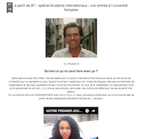 Étudiants internationaux : une rentrée à l'université française