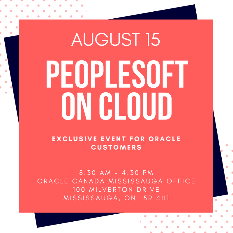 PeopleSoft on Cloud Day