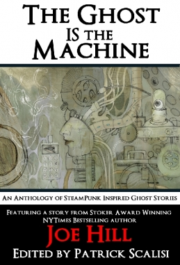 """Post Mortem Press """"Ghost is the Machine"""" Book Cover"""