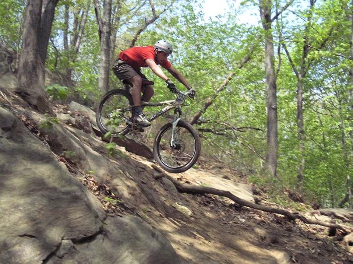 Mountain bike High Bridge Park