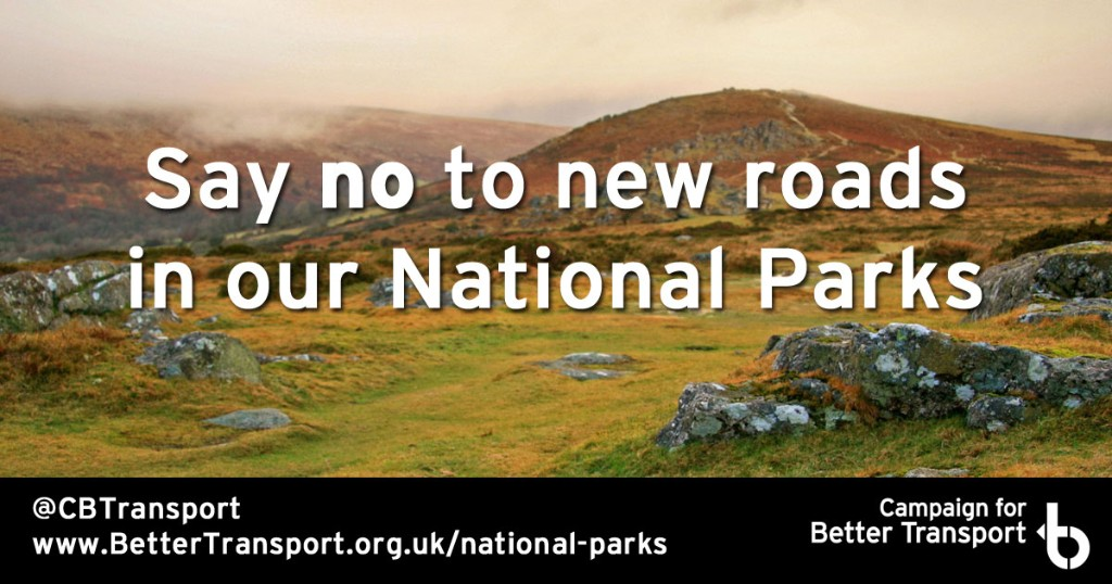 No New Roads in National Parks