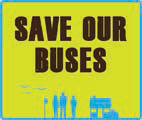 Save Our Buses logo