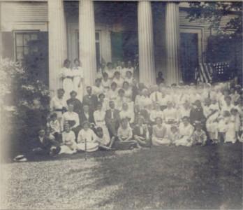 Jones Homestead in 1910