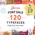 Download 120+ Unique, Premium Typefaces