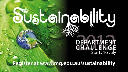 Department Sustainability Challenge - Starts 16 July