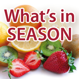 Find out what's in season this month.
