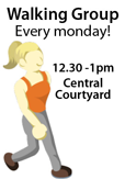 Weekly Walking Group - Monday 12.30pm