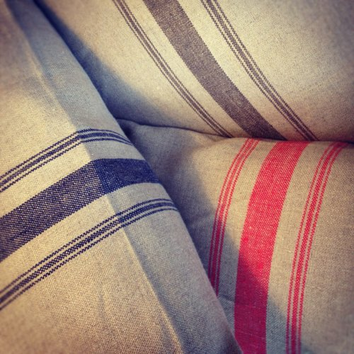 Linen cushions available from Rooms with a View