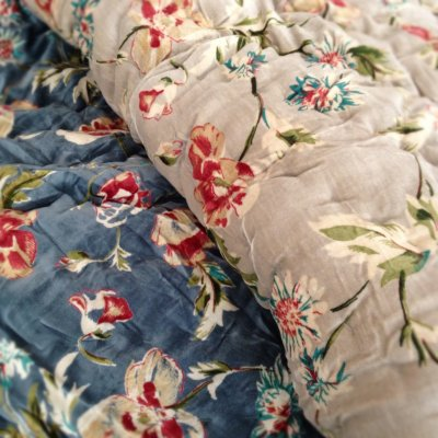 Super soft velvet quilts available from Rooms with a View