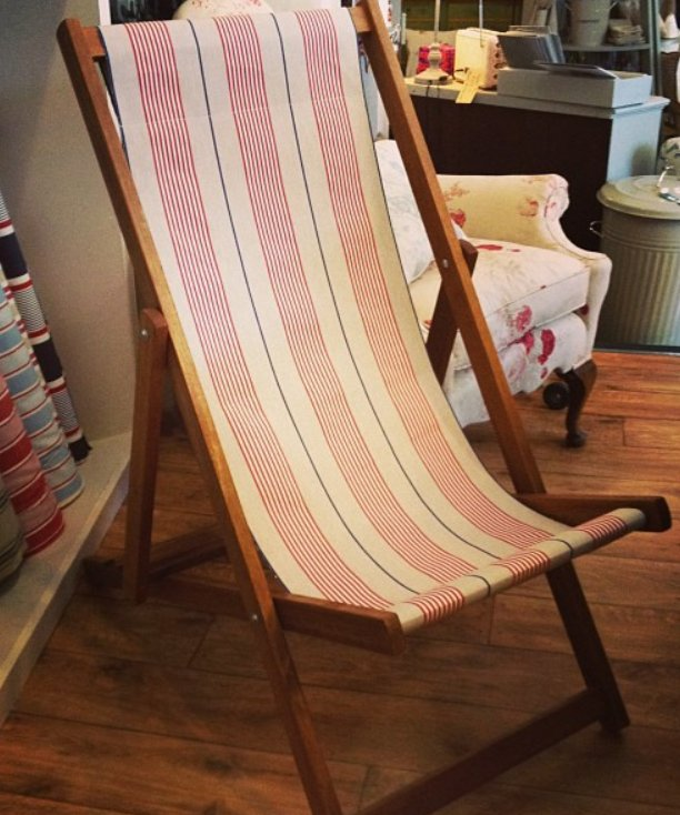 Solid hardwood deckchairs from Rooms with a View