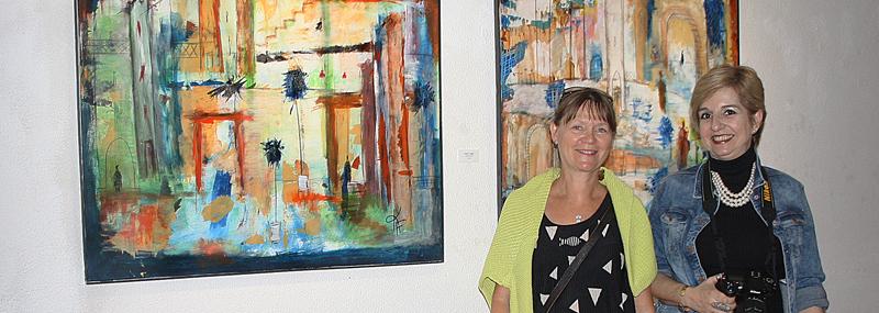 Fernisering hos Colorida Art Gallery