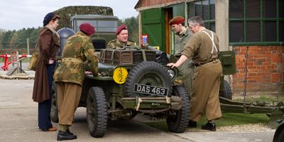 See the past come to life as Eden Camp hosts its Second World War History Weekend / Mar 18