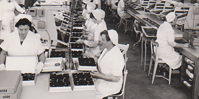 It's chocs away on unmissable new exhibition 250 Years Of Terry's at York's Chocolate Story / From Mar 17