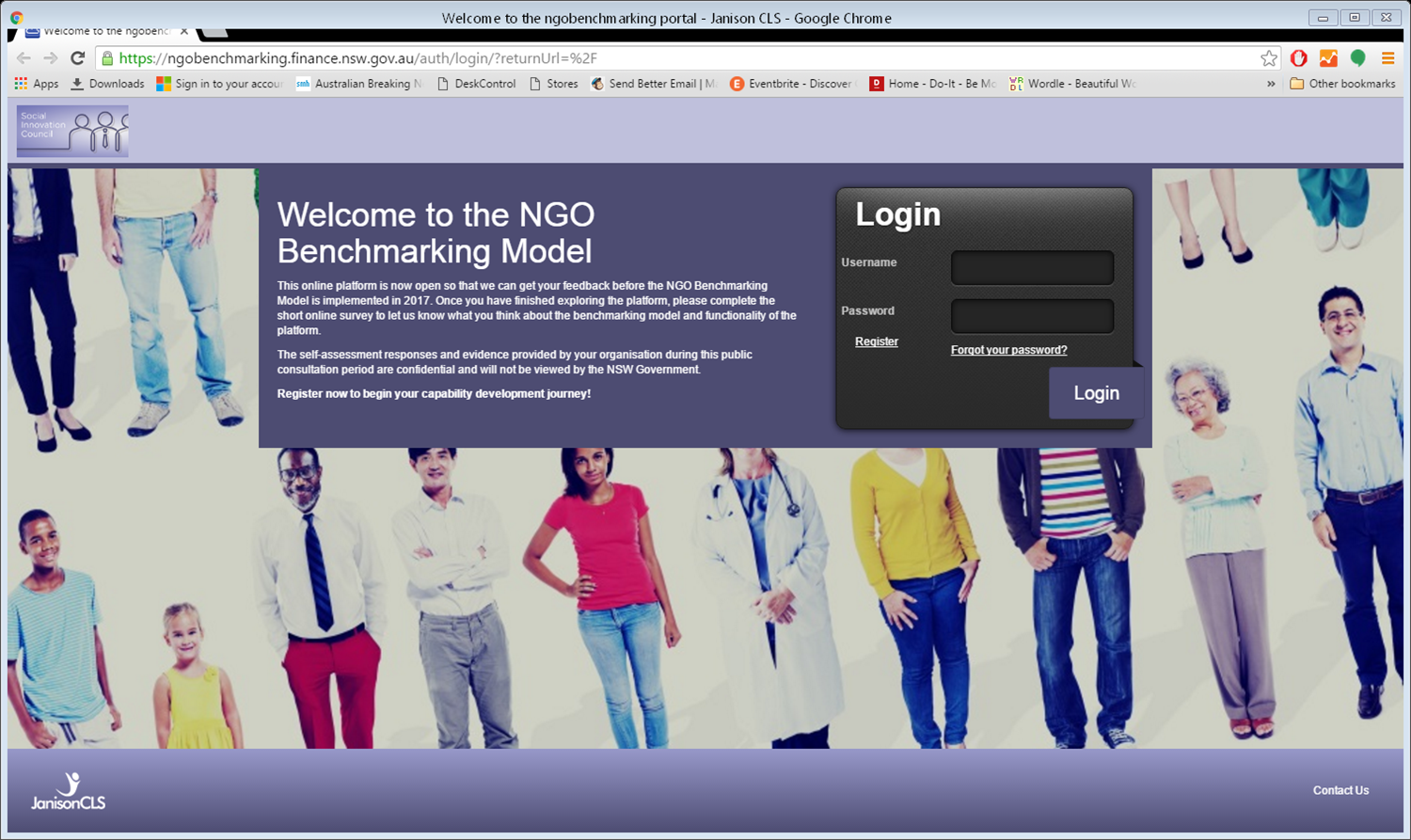NGO Benchmarking Tool available for testing