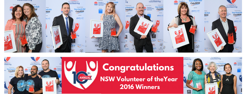 NSW Volunteer of the Year Awards