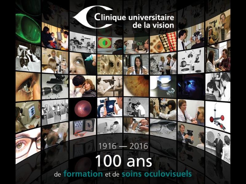 100 ans de formation et de soins oculovisuels - Clinique universitaire de la vision