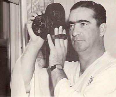 Moe Berg Japan Tokyo 1934 Film Camera Spy