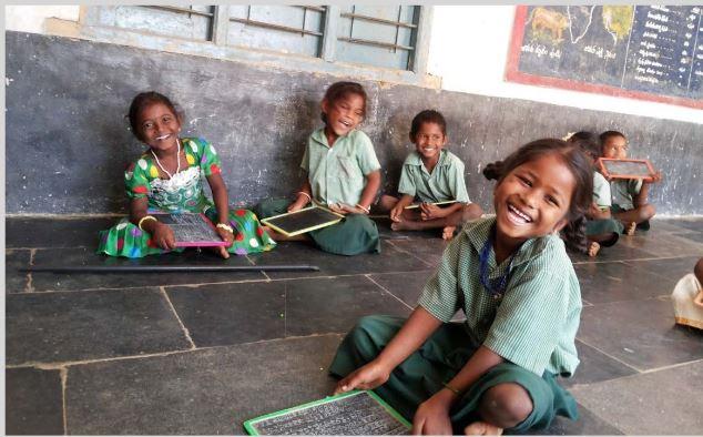 Classroom smiles