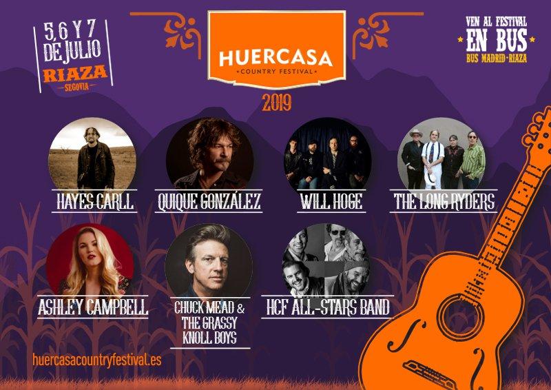 La mejor música americana, en Huercasa Country Festival