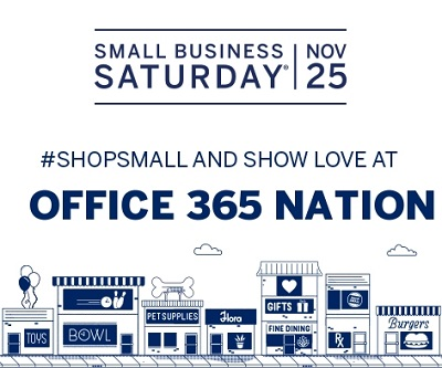 Please participate in your community with Small Business Saturday