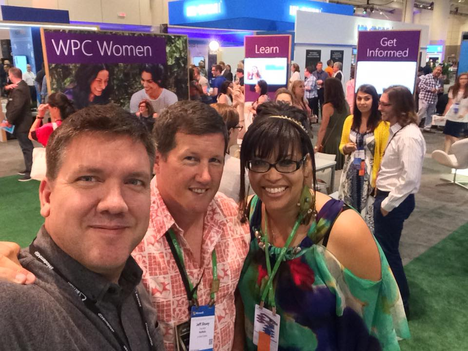Jeff Shuey (center) and friends at WPC Toronto!