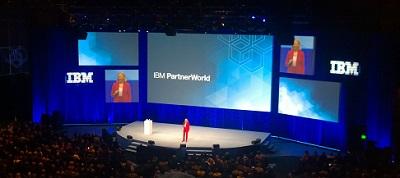 IBM CEO at keynote!