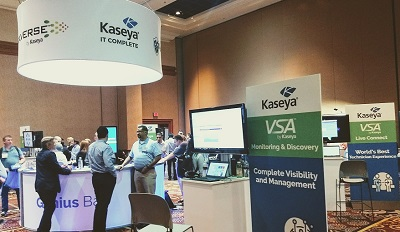 Live from KaseyaConnect in VEGAS!