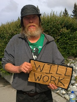 Unemployed Alaskan