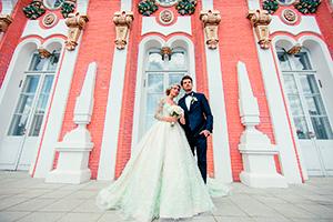 Фотосессия для молодожен в Петровском дворце