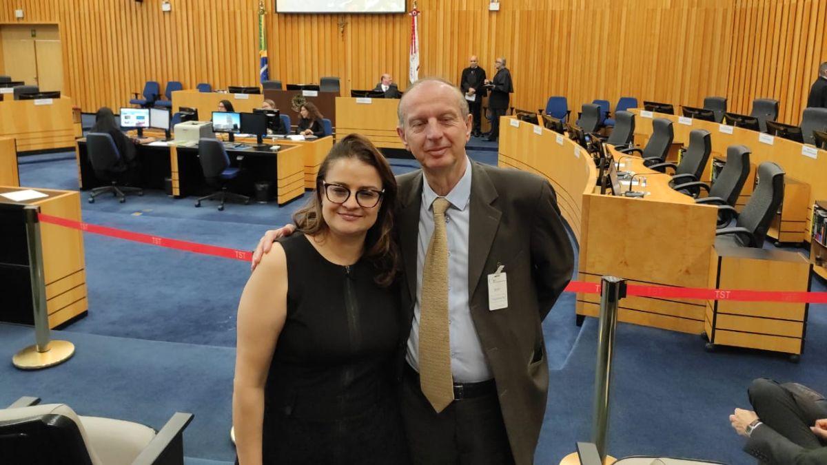 Dra. Joelma de Dantas e Luiz Mauro Lebelem