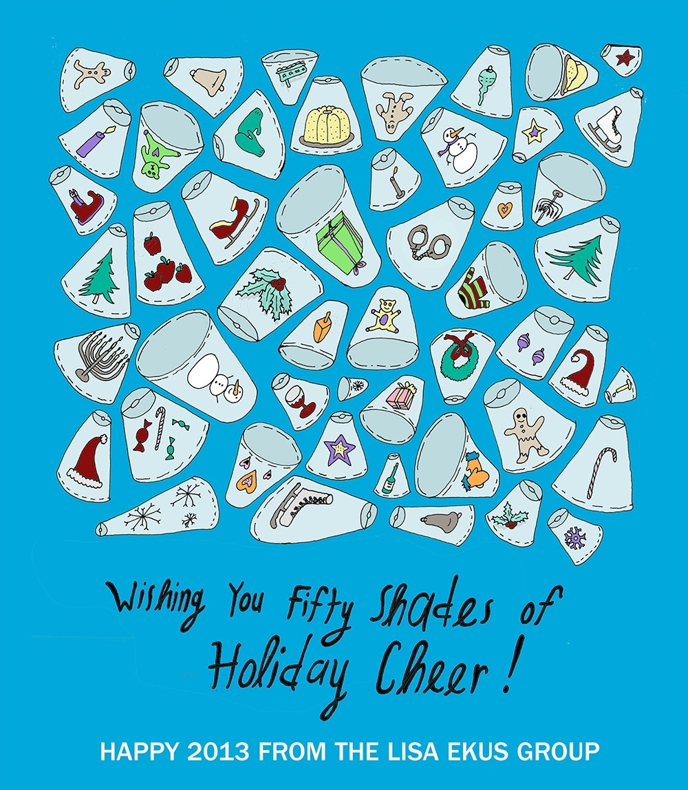 Wishing you fifty shades of holiday cheer!