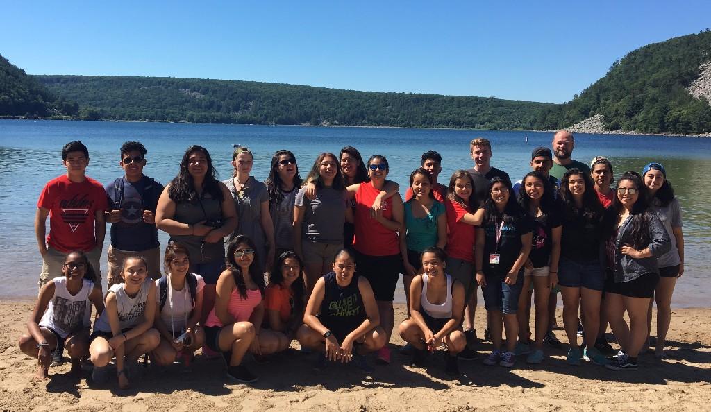PSI students at Devil's Lake