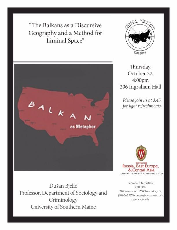Discursive Balkan Geography Poster