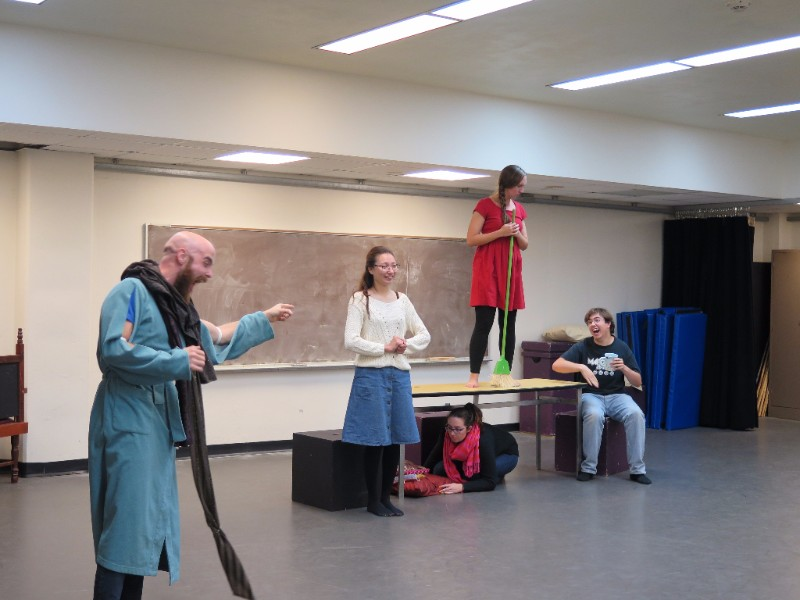The Dragon rehearsal