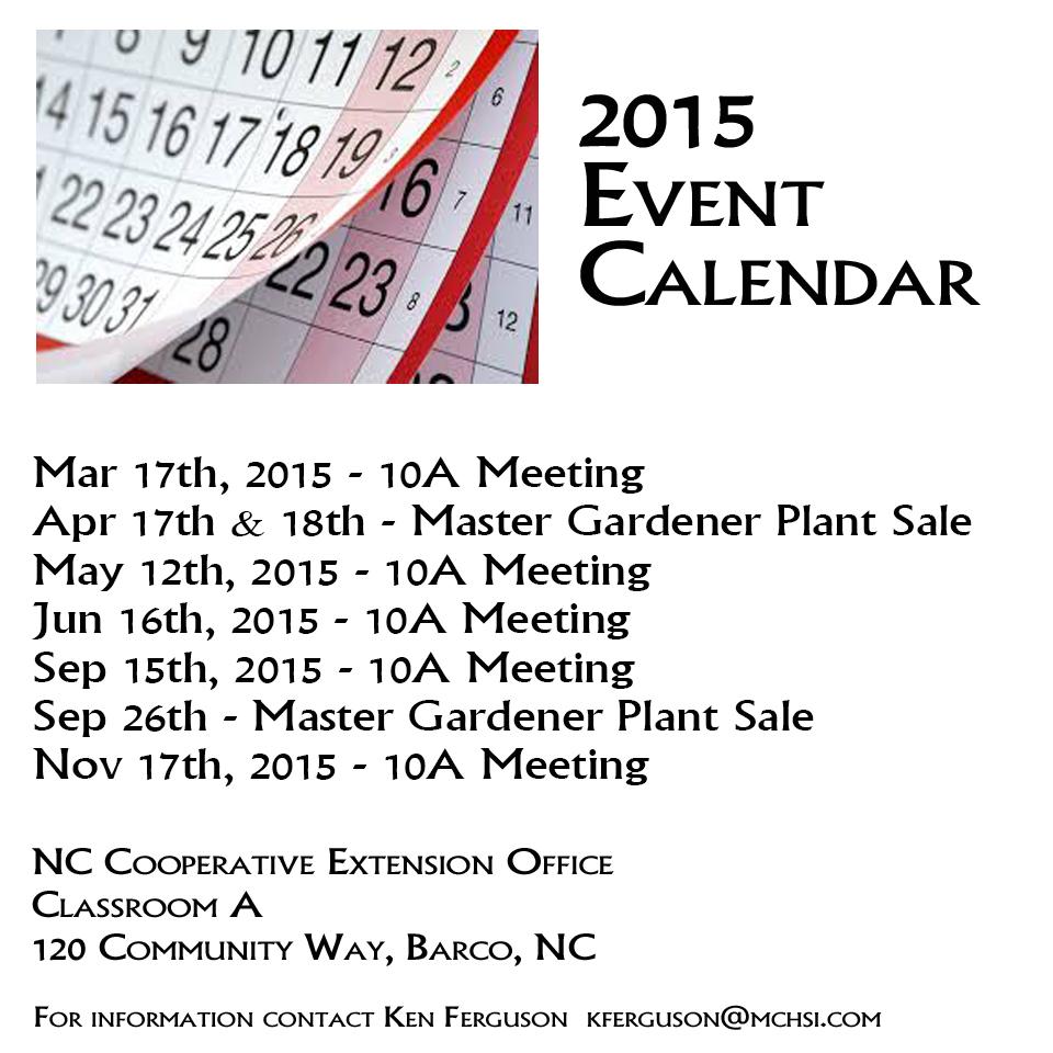 2015 Calendar Revised FEB 2015