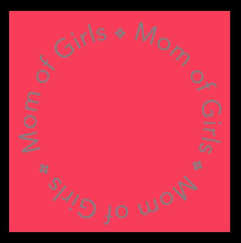 mom of girls logo