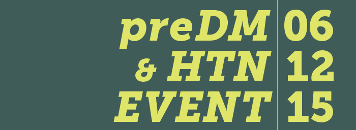 preDM and HTN event