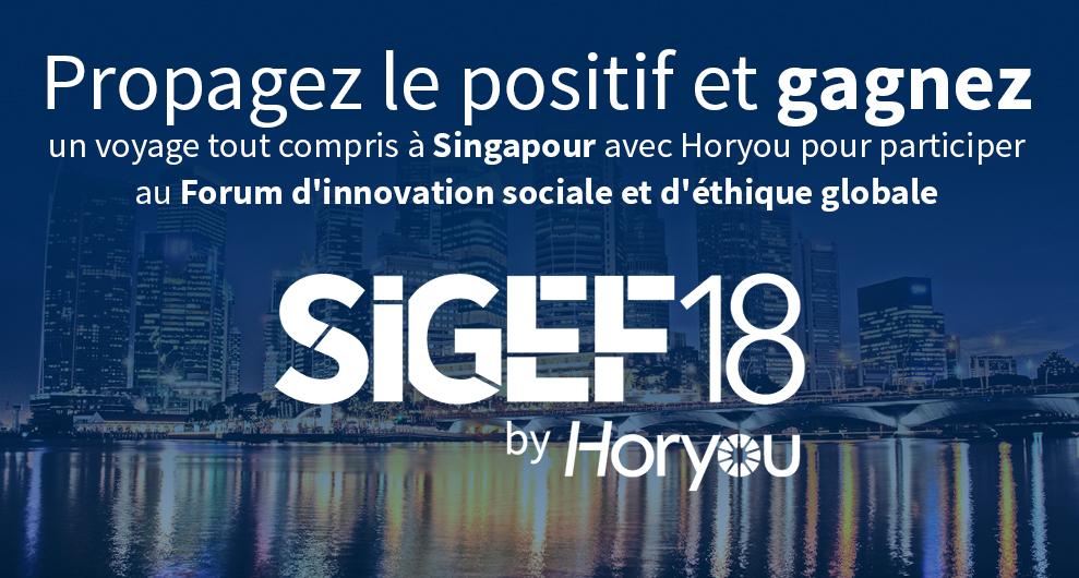 Gagnez un voyage pour participer au Forum d'innovation sociale et d'éthique globale