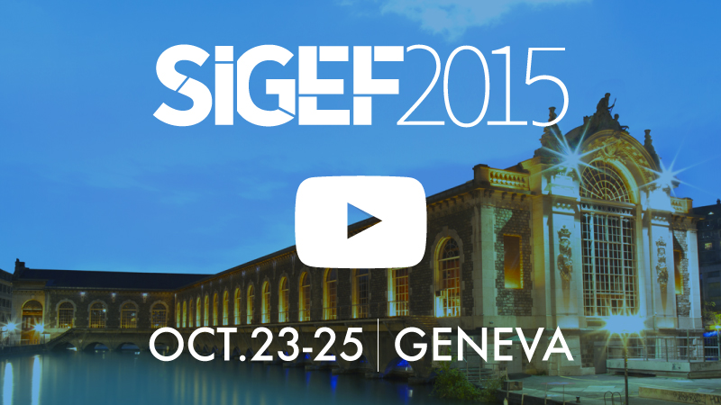 SIGEF 2015 - Shaping Better Times to Come